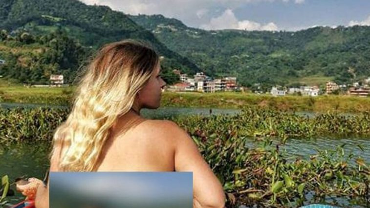 Naked Photo Suit in Pokhara
