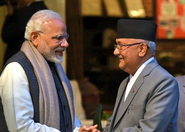 narendra Modi Meets KP OLI3