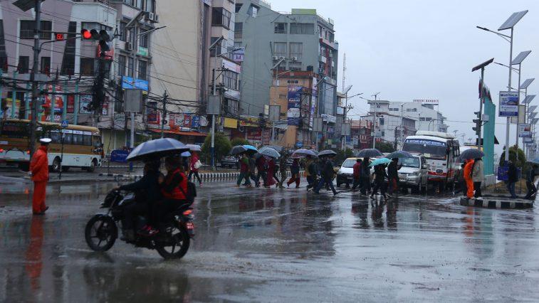 rain kathmandu