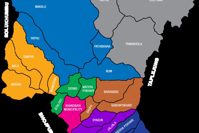 sankhuwasabha map
