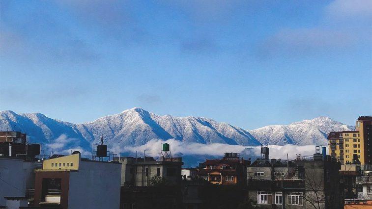 snowfall kathmandu