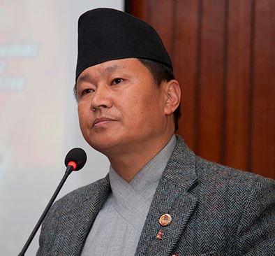 Chief Minister sher dhan rai