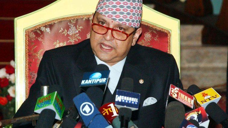 Former King Gyanendra Shah