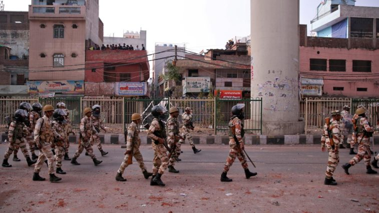 delhi unrest