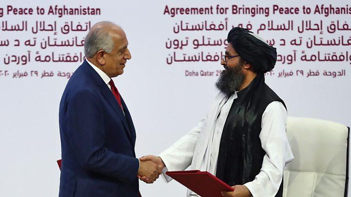 afghan usa peace