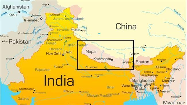 india nepal china
