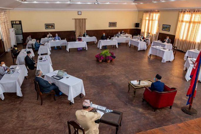 ministry meeting corona