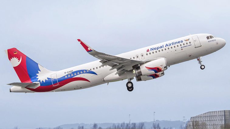 nepalairlines a320 airbus