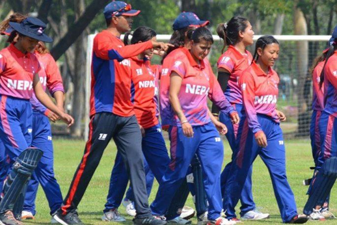 nepali women cricket