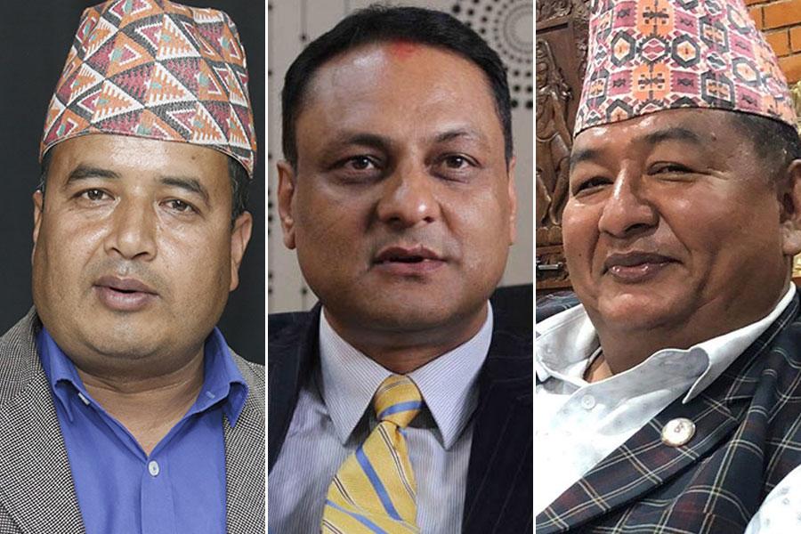Mahesh Basnet Sarbendra Khanal Kisan Shresth