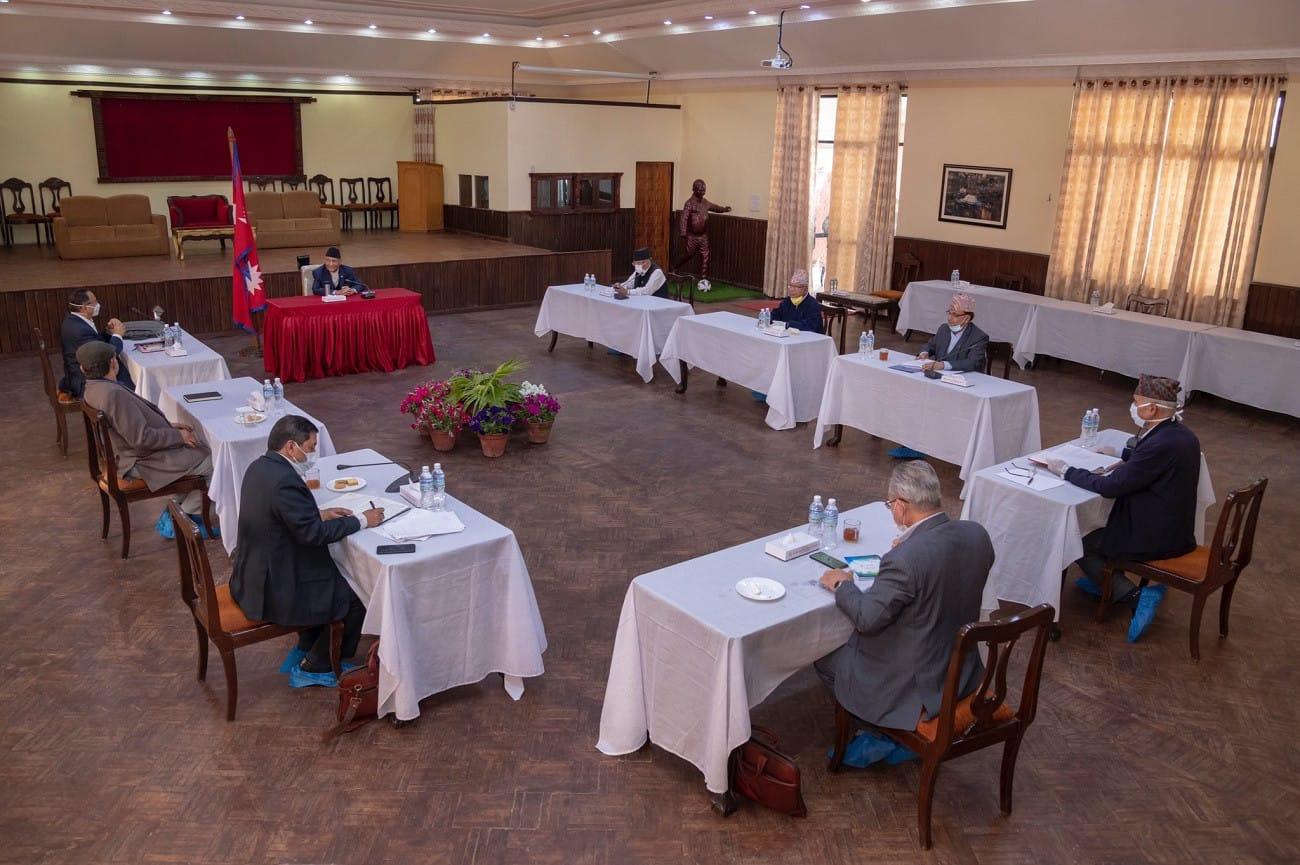 NCP secretariat meeting during lockdown