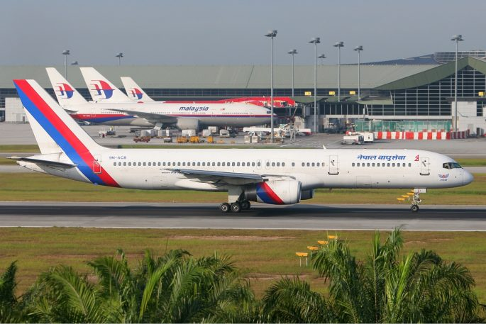Nepal Airlines Boeing