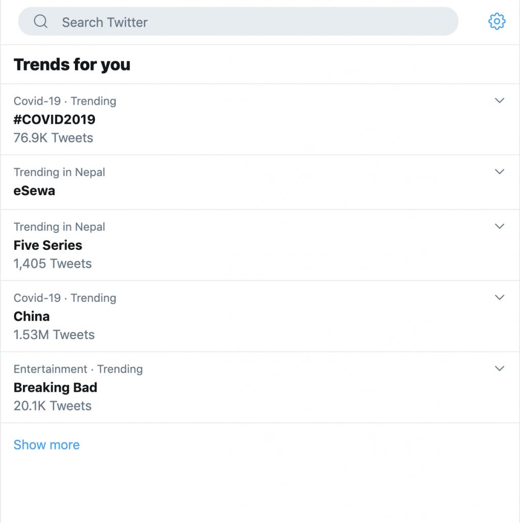 esewa trending