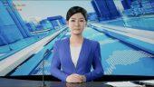 3D news anchor