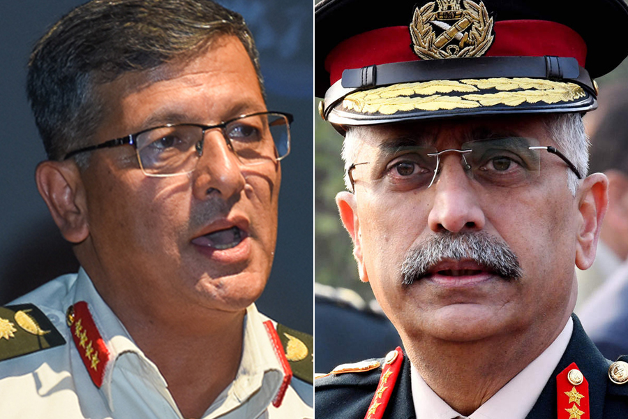 Nepali and Indian Army Chief