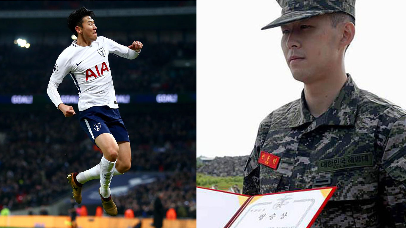 Son Heung min cover
