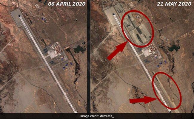 china airbase laddakh