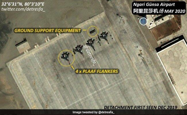 ladakh china airbase