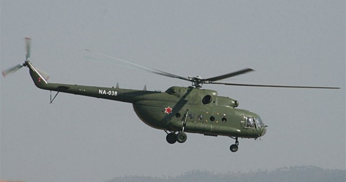 nepal army helicopter