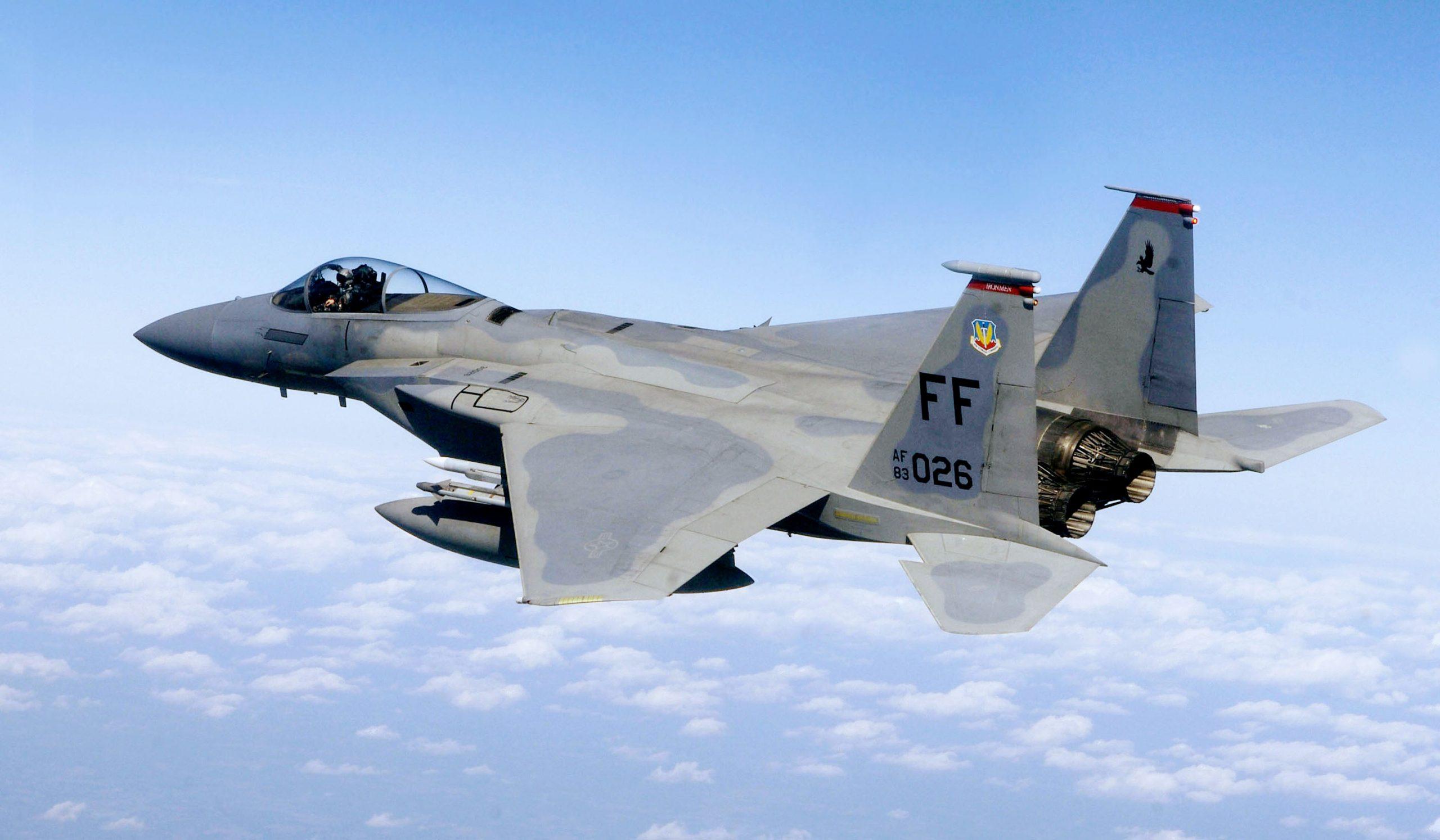 F 15C Eagle scaled