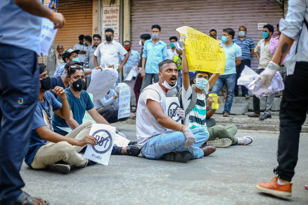 birgunj protest 3