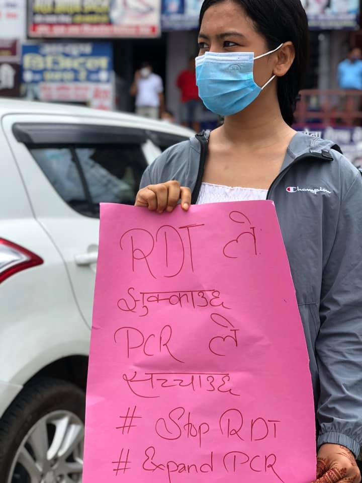 butwal protest 4
