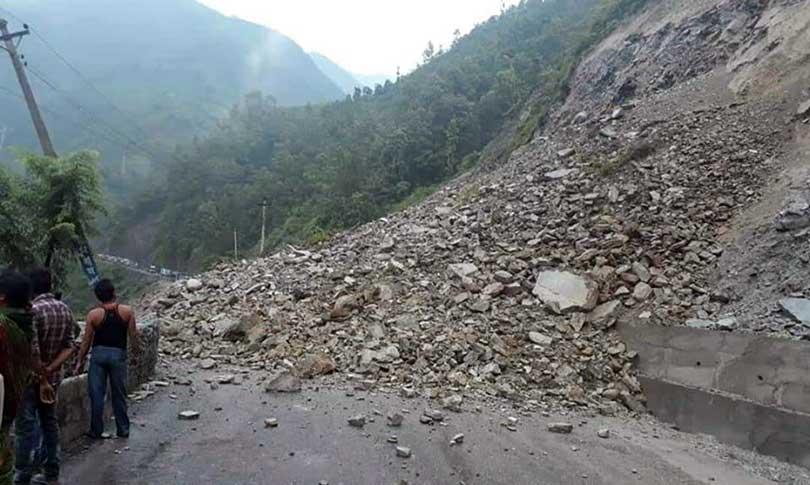 mugling landslide