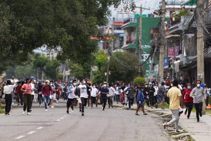 pokhara protest 2