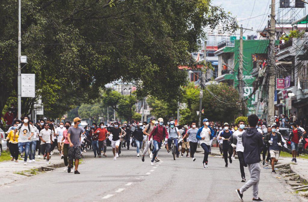 pokhara protest 5