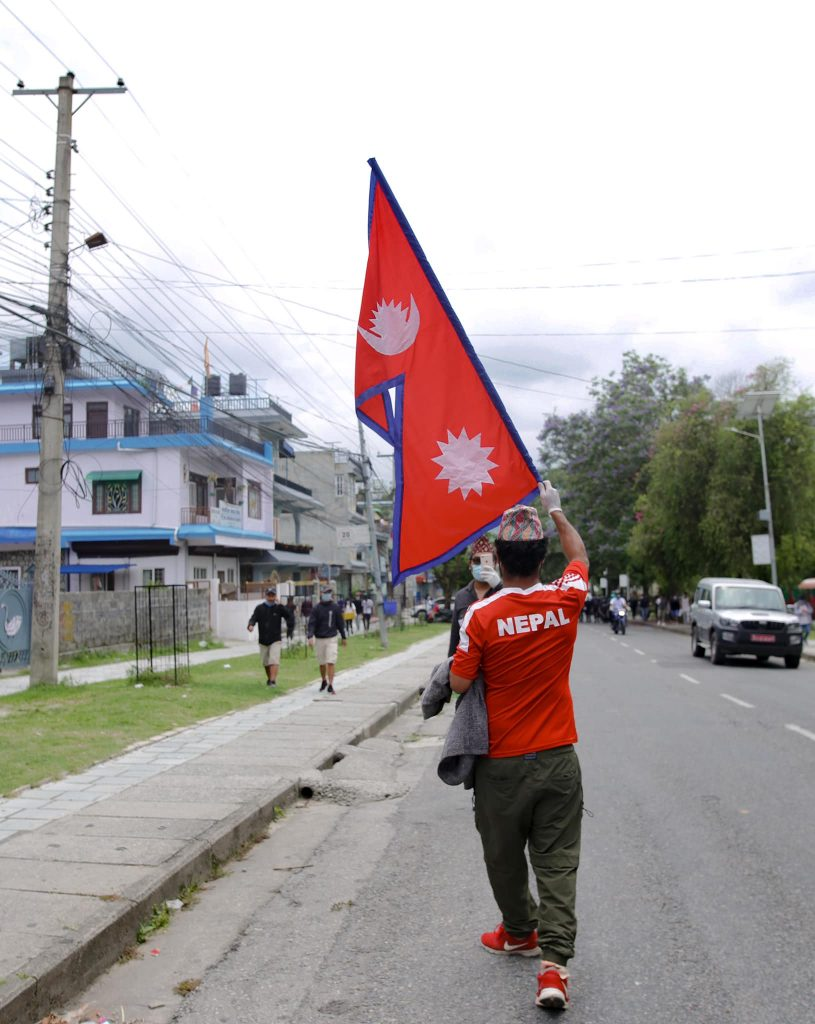 pokhara protest 6