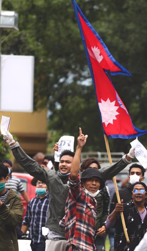 pokhara protest 7