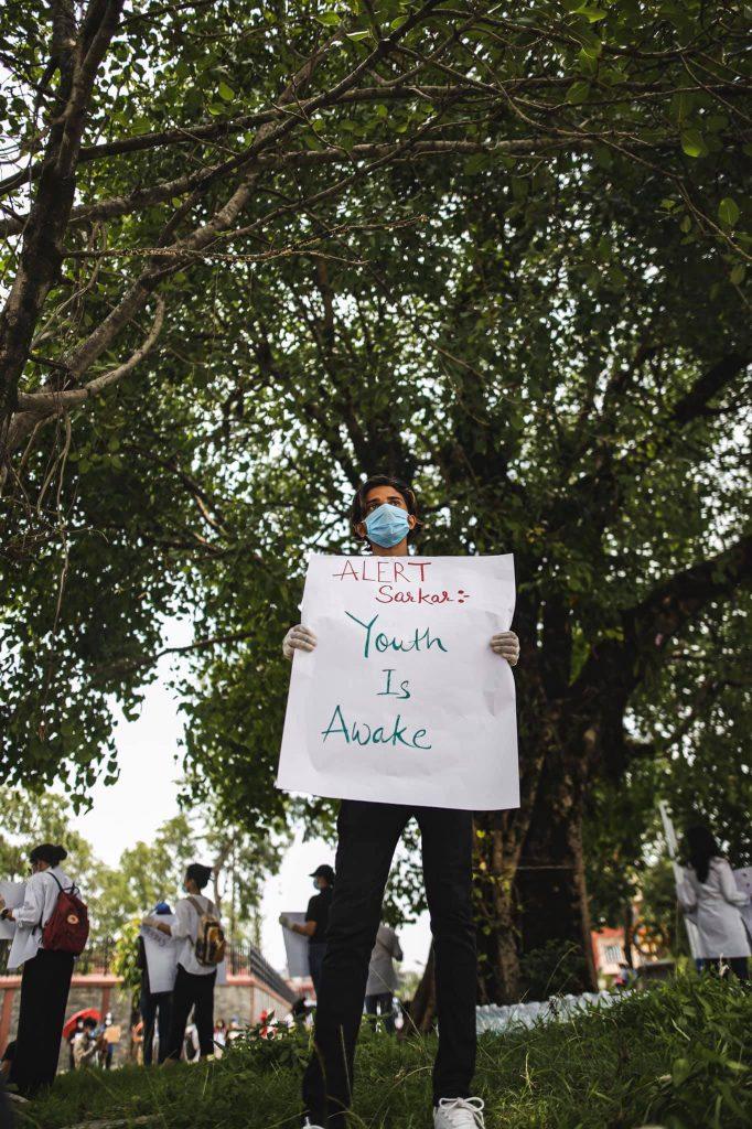 pokhara protest 9