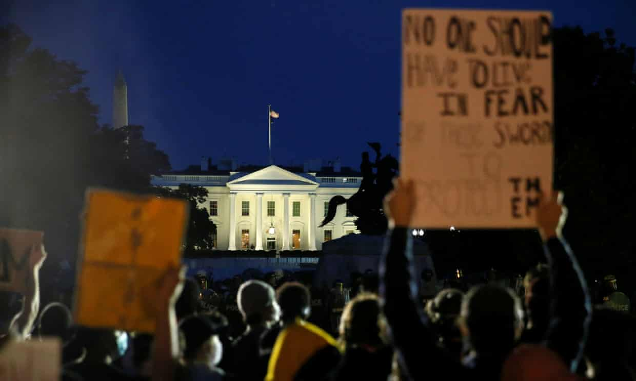 white house protest