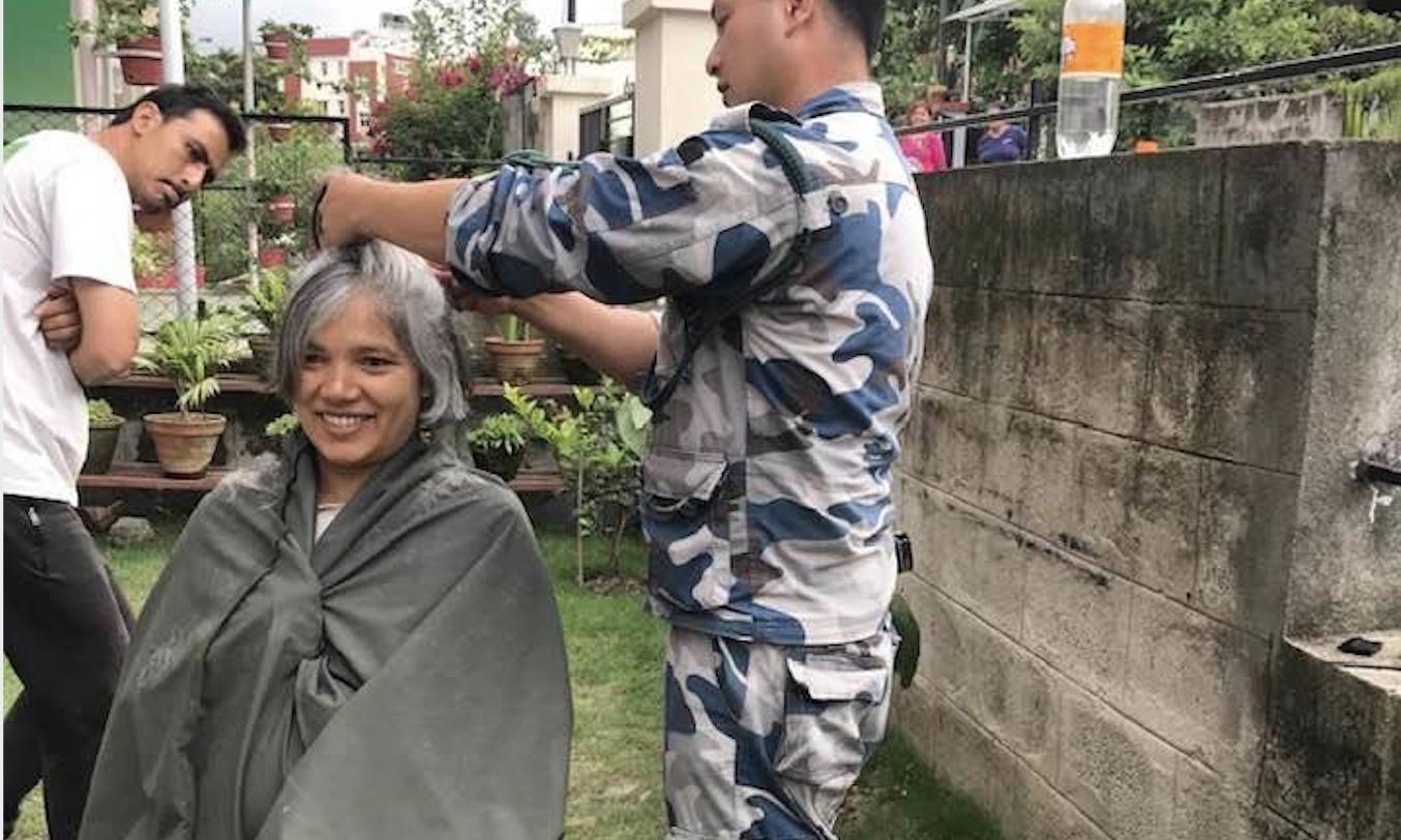 manushi yami haircut