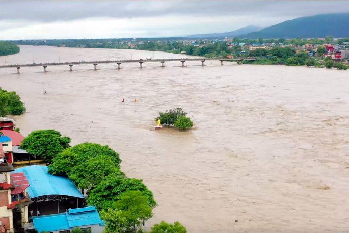 narayani flood level