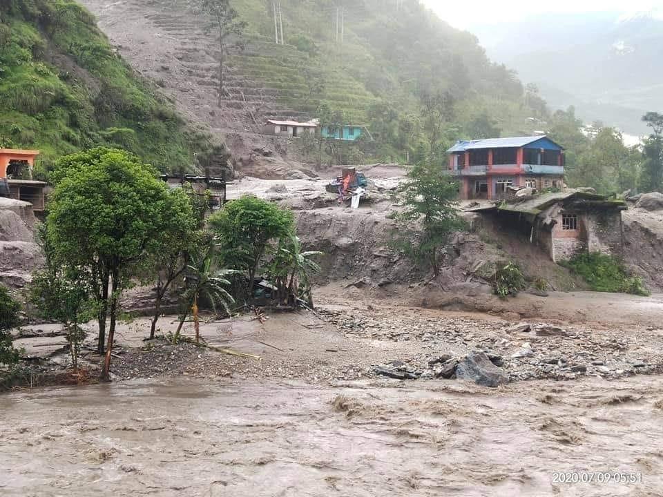 sindhupalchowk flood