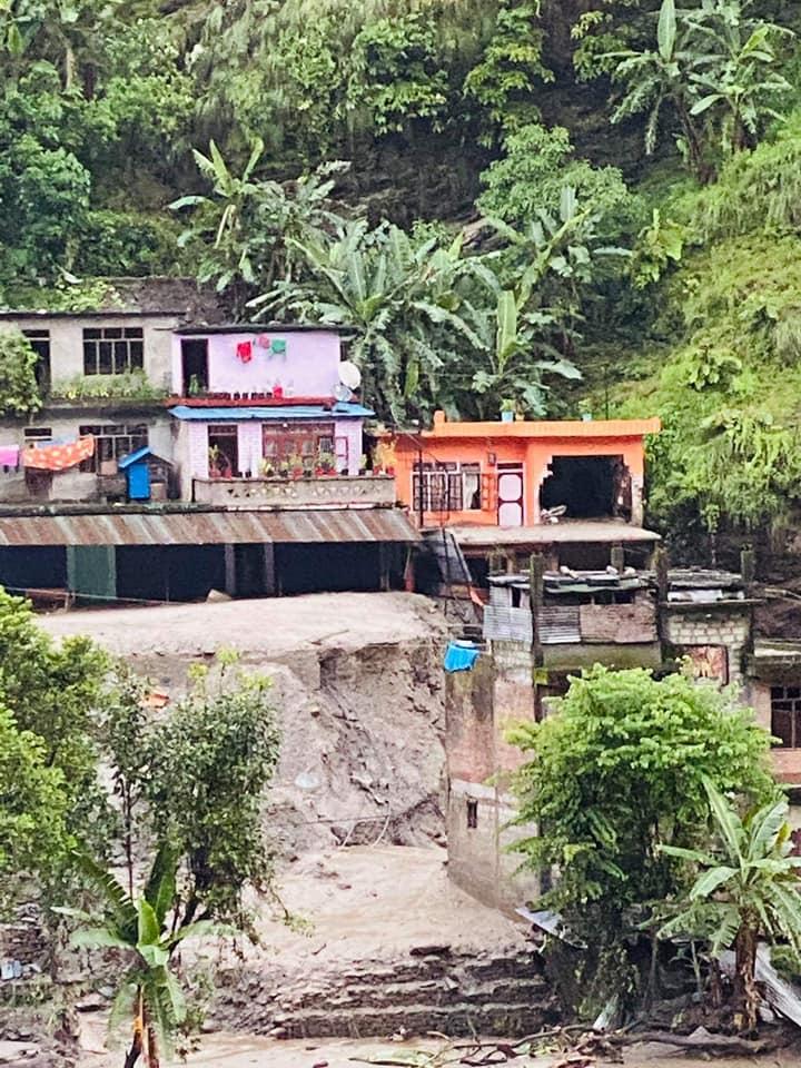 sindhupalchowk landslide flood