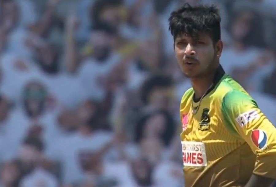 Sandeep took a wicket in the first match of CPL