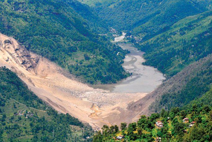 jure landslide nepal