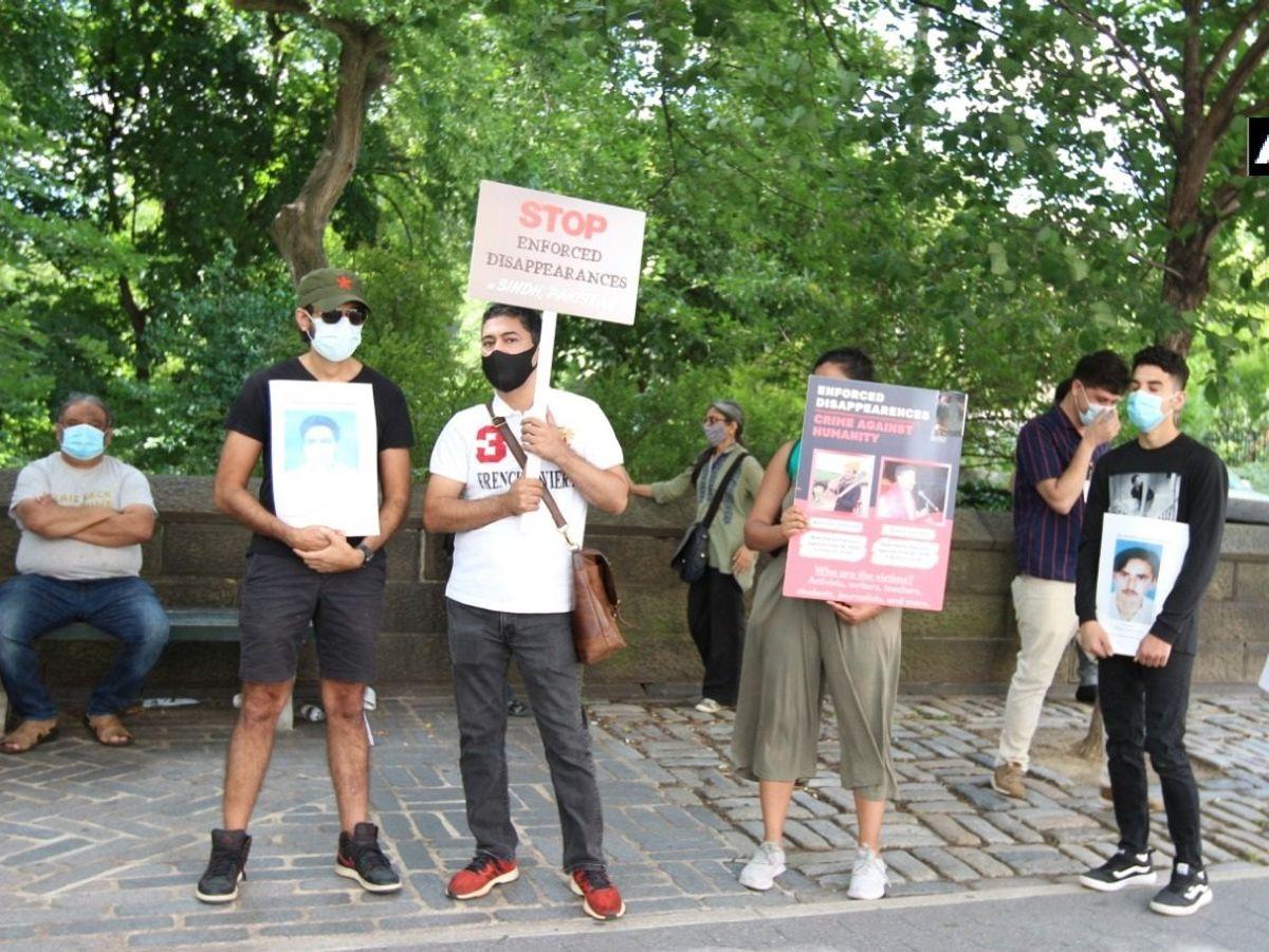 pakistani protest newyork