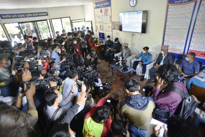press meet gongabu murder case new