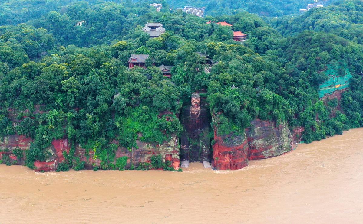 sichuan flood buddha