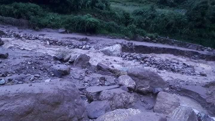 baglung flood 2