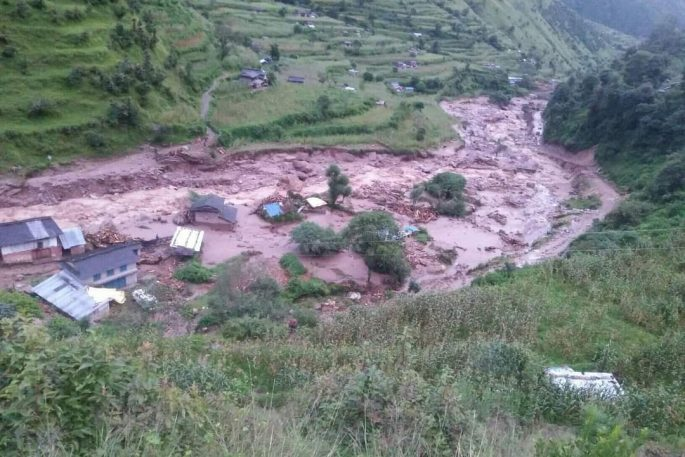 baglung flood