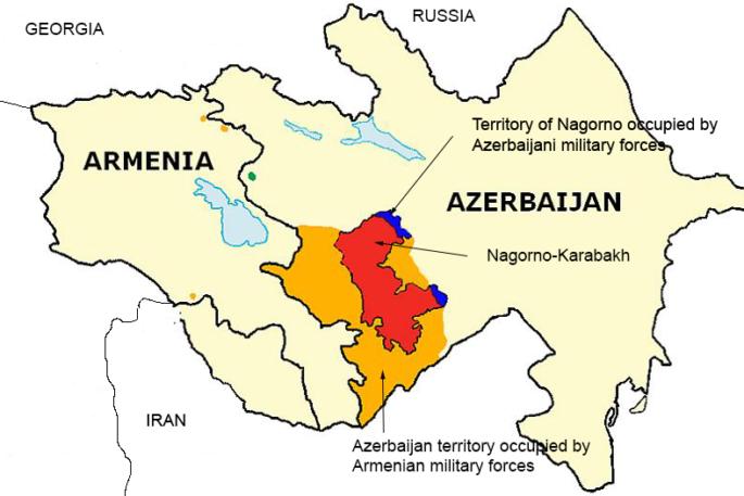 Karabakh War Map