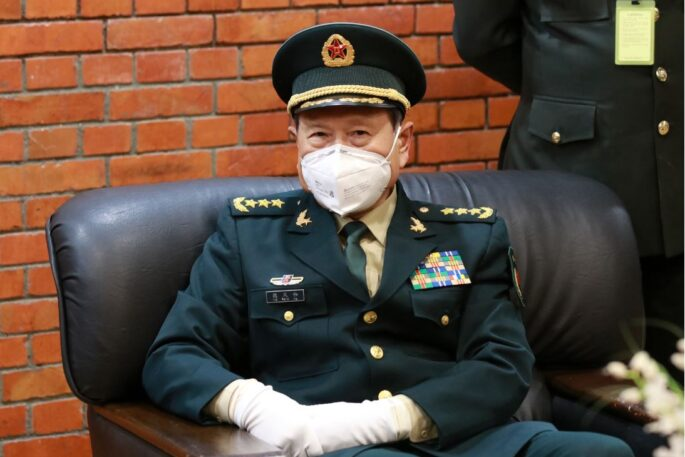 chinese defence minister