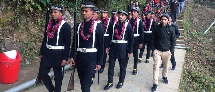 Nepal army Gorkha to kathmandu