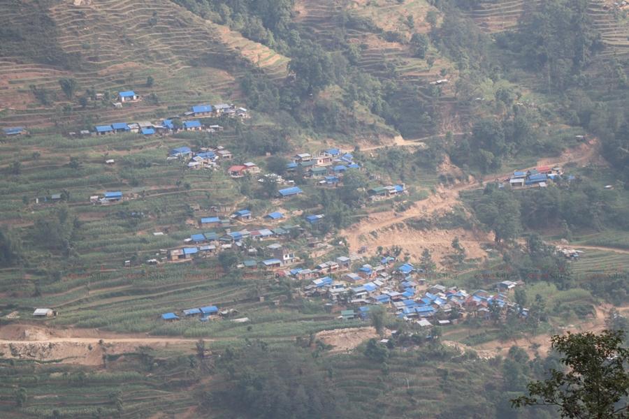 A village of Gorkha