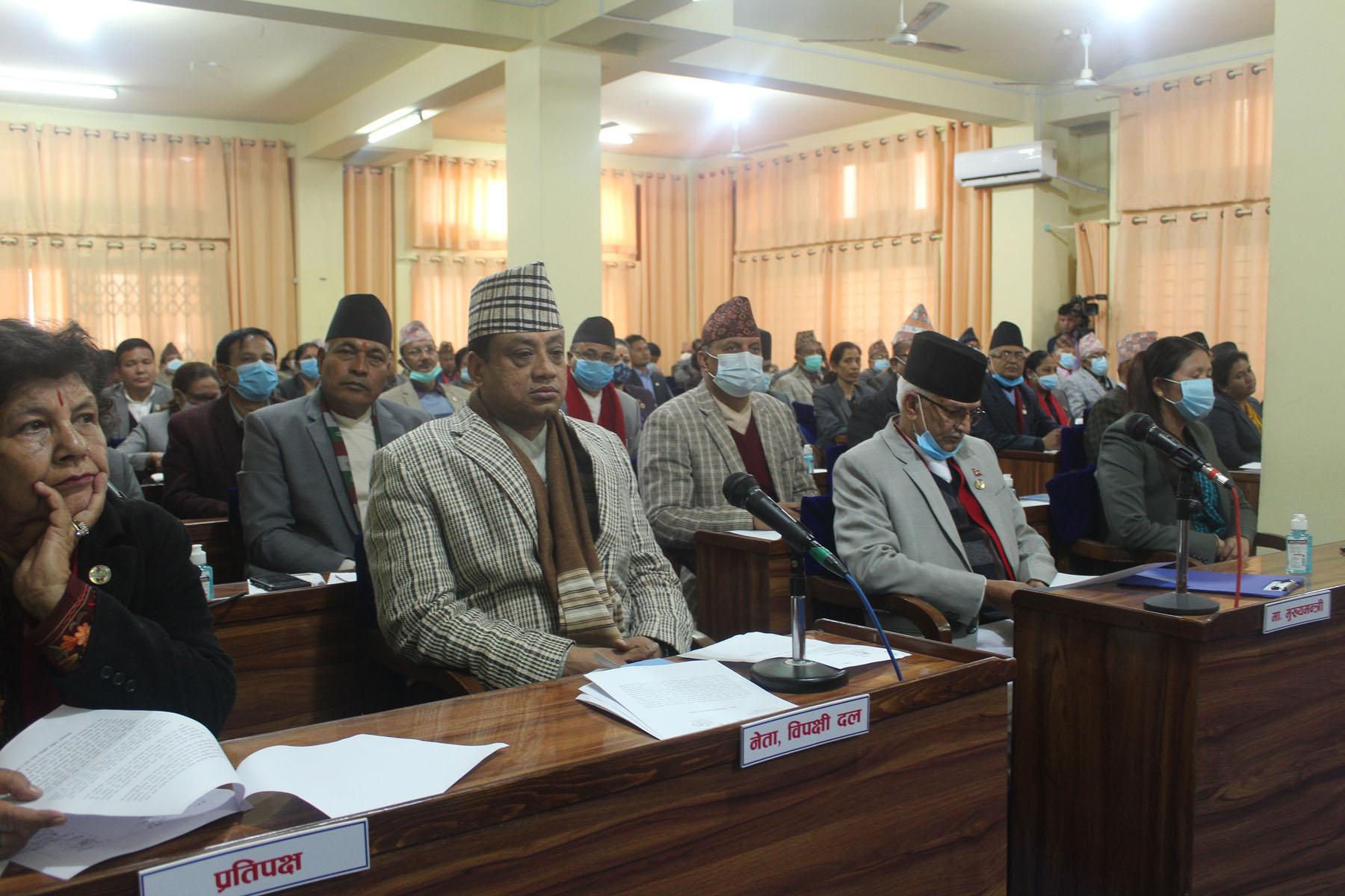 AT Hetauda Bagmati Province Meeting
