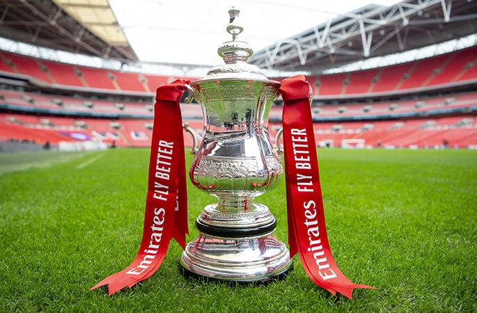 fa cup pitch wembley